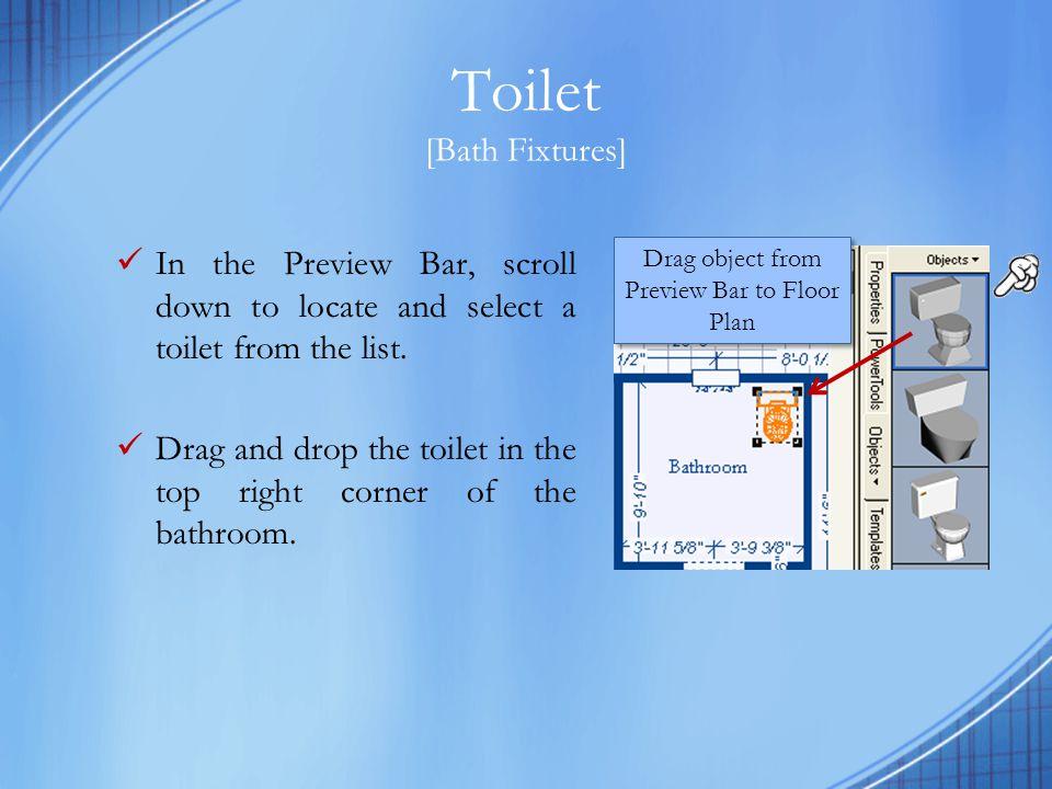 Toilet [Bath Fixtures]